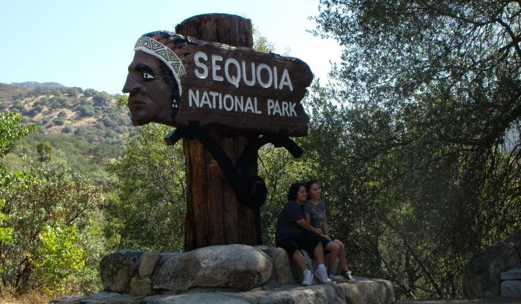 Copertina Sequoia National Park